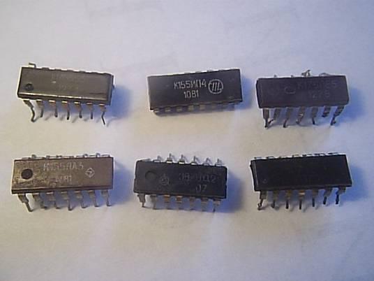 микросхемы 155 серии.